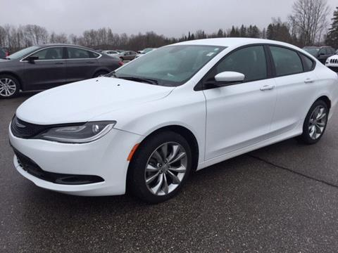 2016 Chrysler 200 for sale in Pickford, MI