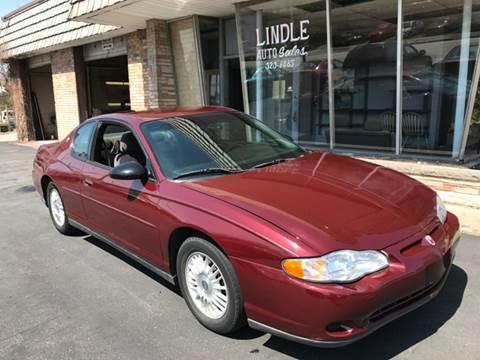2001 Chevrolet Monte Carlo for sale in Davenport, IA