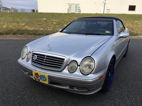 Mercedes benz clk for sale for Mercedes benz in fredericksburg va