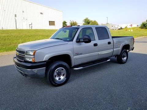 Used Trucks For Sale In Va >> 2005 Chevrolet Silverado 2500hd For Sale In Fredericksburg Va
