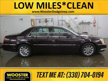 2008 Cadillac DTS for sale in Wooster, OH
