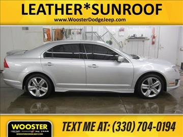 2011 Ford Fusion for sale in Wooster, OH