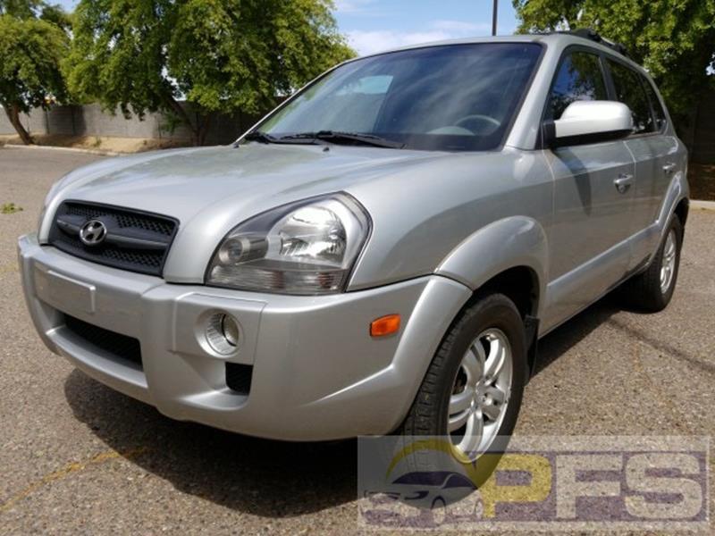 2007 Hyundai Tucson for sale at Precision Fleet Services Phoenix in Peoria AZ