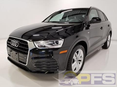 2018 Audi Q3 for sale at Precision Fleet Services Phoenix in Peoria AZ
