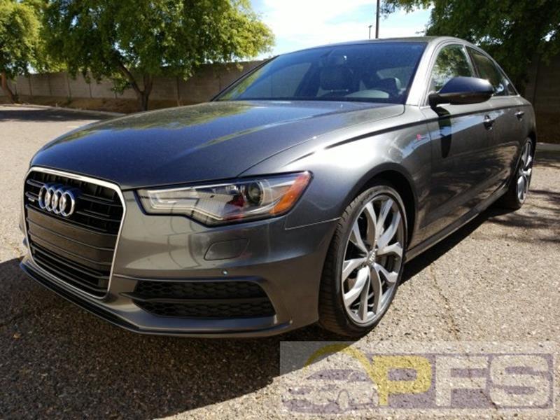 2015 Audi A6 for sale at Precision Fleet Services Phoenix in Peoria AZ