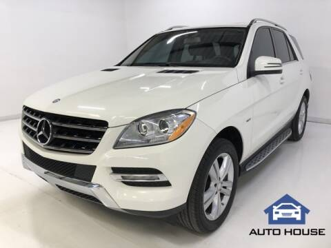 2012 Mercedes-Benz M-Class for sale at Auto House Phoenix in Peoria AZ
