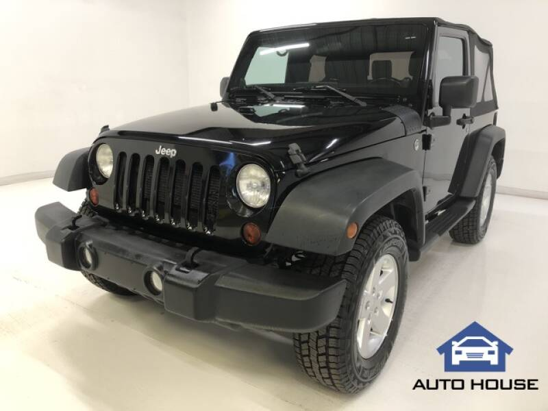 2012 Jeep Wrangler for sale at Auto House Phoenix in Peoria AZ