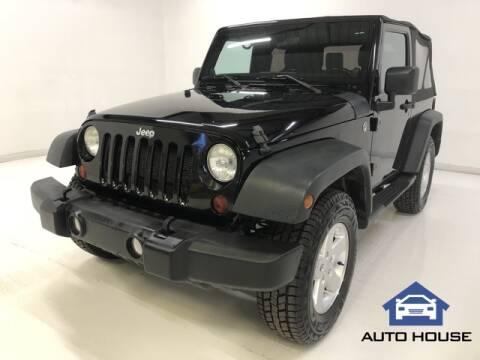 2012 Jeep Wrangler for sale at Auto House Phoenix in Peoria AZ