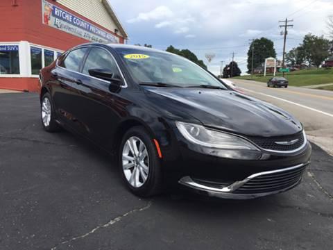 2015 Chrysler 200 for sale in Harrisville, WV