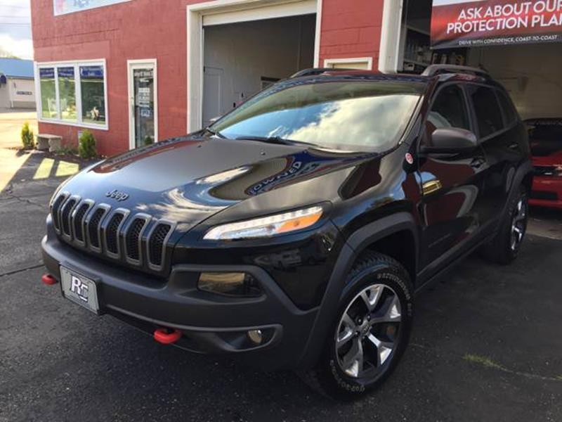 2017 Jeep Cherokee Trailhawk In Harrisville Wv Ritchie County