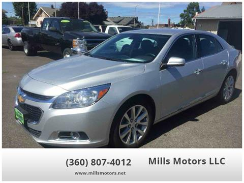 2016 Chevrolet Malibu Limited for sale in Centralia, WA