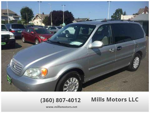 2003 Kia Sedona for sale in Centralia, WA