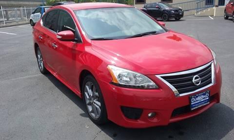 2015 Nissan Sentra for sale at Diamond Automotive Group in San Antonio TX