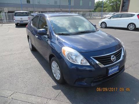 2014 Nissan Versa for sale at Diamond Automotive Group in San Antonio TX