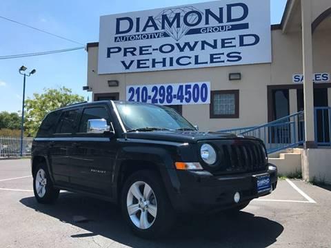 2012 Jeep Patriot for sale at Diamond Automotive Group in San Antonio TX