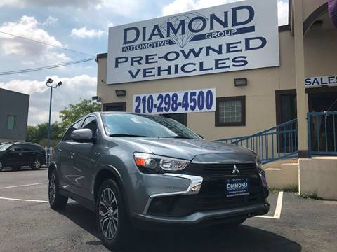 2016 Mitsubishi Outlander Sport for sale at Diamond Automotive Group in San Antonio TX