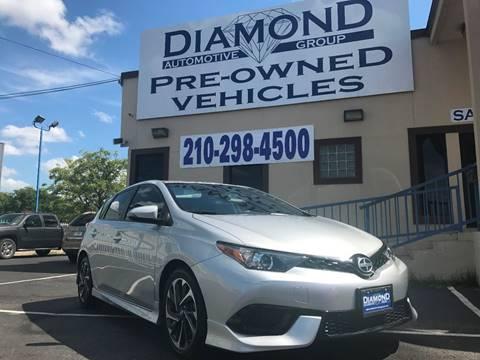 2016 Scion iM for sale at Diamond Automotive Group in San Antonio TX