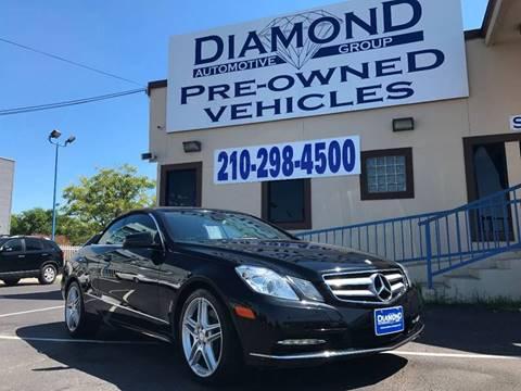 2013 Mercedes-Benz E-Class for sale at Diamond Automotive Group in San Antonio TX