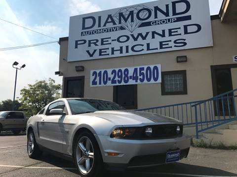 2010 Ford Mustang for sale at Diamond Automotive Group in San Antonio TX