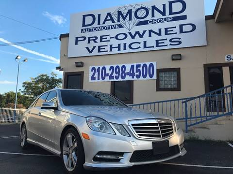 2013 Mercedes-Benz E-Class for sale in San Antonio, TX