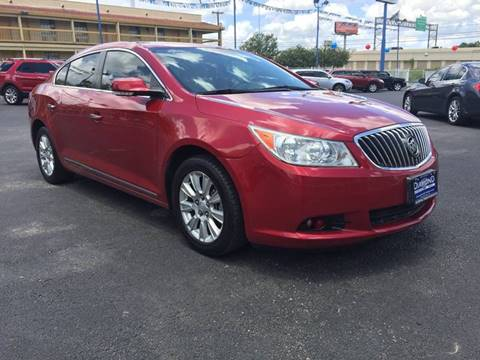 2013 Buick LaCrosse for sale at Diamond Automotive Group in San Antonio TX