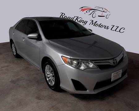 2012 Toyota Camry for sale in Houston TX