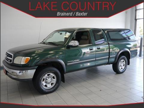 2000 Toyota Tundra for sale in Brainerd, MN