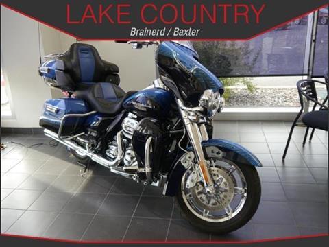 2014 Harley-Davidson CVO Ultra Limited for sale in Brainerd, MN