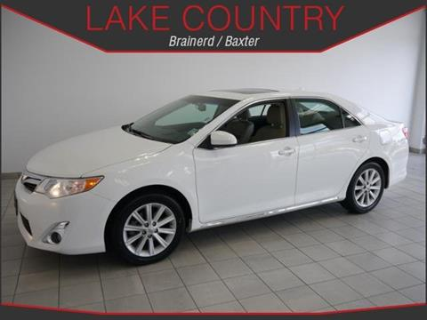 2014 Toyota Camry for sale in Brainerd, MN