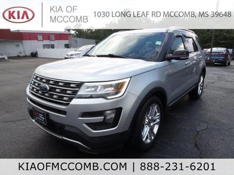 2016 Ford Explorer for sale in Mccomb, MS