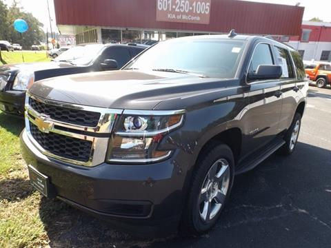2015 Chevrolet Tahoe for sale in Mccomb, MS