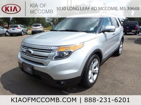2015 Ford Explorer for sale in Mccomb, MS