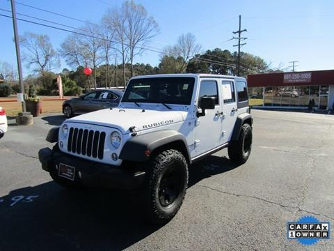 2015 Jeep Wrangler Unlimited for sale in Mccomb, MS