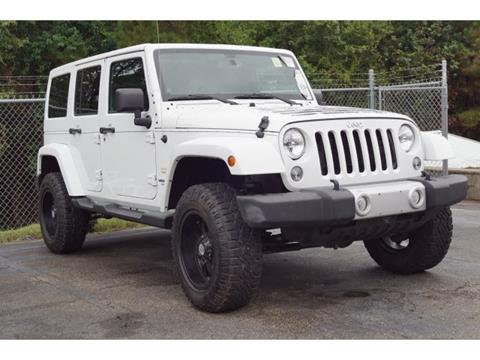 2014 Jeep Wrangler Unlimited for sale in Mccomb, MS