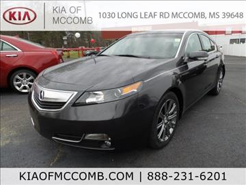 2013 Acura TL for sale in Mccomb, MS