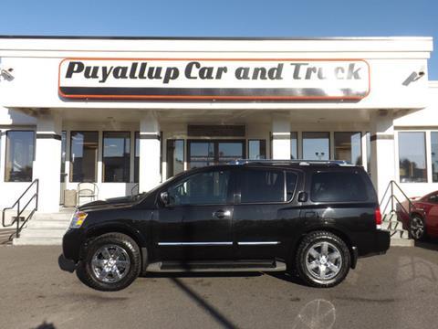2011 Nissan Armada for sale in Puyallup, WA