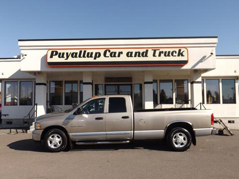 2004 Dodge Ram Pickup 3500 for sale in Puyallup, WA