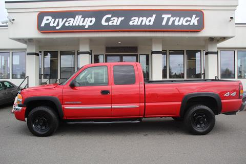 2007 GMC Sierra 2500HD Classic for sale in Puyallup, WA