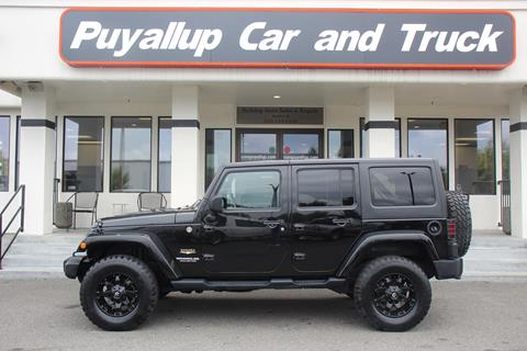2014 Jeep Wrangler Unlimited for sale in Puyallup, WA