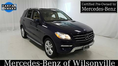 2015 Mercedes-Benz M-Class for sale in Wilsonville, OR