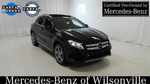 2015 Mercedes-Benz GLA for sale in Wilsonville, OR