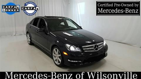 2013 Mercedes-Benz C-Class for sale in Wilsonville, OR