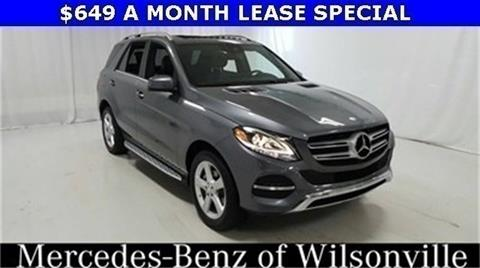 2017 Mercedes-Benz GLE for sale in Wilsonville, OR