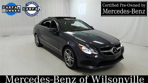 2014 Mercedes-Benz E-Class for sale in Wilsonville, OR