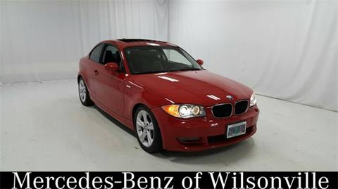 2008 BMW 1 Series for sale in Wilsonville, OR
