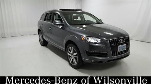 2014 Audi Q7 for sale in Wilsonville, OR