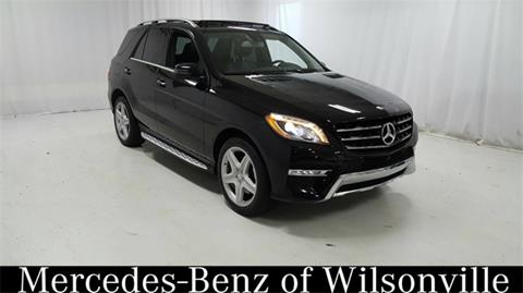 Mercedes benz m class for sale in oregon for Mercedes benz of wilsonville