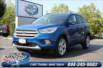2017 Ford Escape for sale in Kirkland, WA
