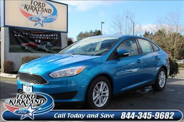 2017 Ford Focus for sale in Kirkland, WA