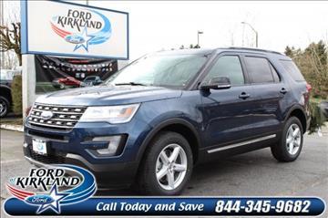 2017 Ford Explorer for sale in Kirkland, WA